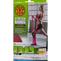 Banda Elastica 3 Niveles P/entrenar Yoga,pilates Gold´s Gym