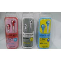 Audifonos Auriculares Sony Original Mp3 Mp4 Celular Pc Table