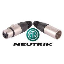 Conectores Neutrik Canon