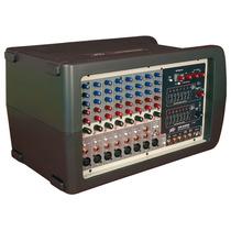 Consola Amplificada Peavey Xr8300 De 8 Canales 600 Watt Rms