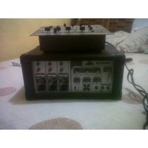 Amplificador Mezclador Y Dos Monitores, Cables