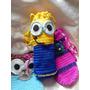 Porta Termos Y Botellas En Crochet