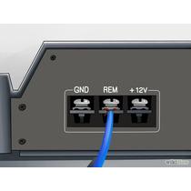 Cable Calibre 18 Monster Para Remoto Azul-rockford-kicker-mt