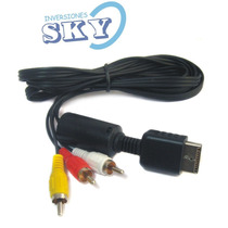 Cable Av Audio Y Video Para Ps3 Ps2 Ps1 Rca Sony