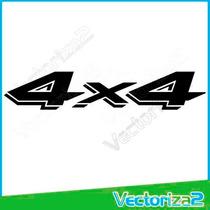 Calcomania 4x4 Dodge Dakota Marca 3m Entrega Personal