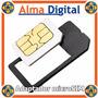 Kit 2en1 Adaptador Micro Sim A Sim Card