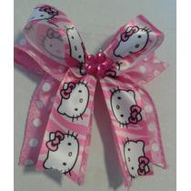Lazos O Ganchos Hello Kitty Para Ninas Cinta Importada