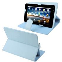 Estuche De Cuero Tablet 7 Samsung, Tablet China + Cargador