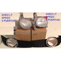 Kit Faros Antinieblas O Carelos Para Aveo Lt Speed 3 Puertas