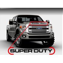 Super Duty Letras Parrilla Frontal Calcomanias / Etiquetas