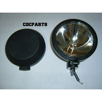 Faro Auxiliar Con Sealed Beam Ge 100w Y Tapa Ivica