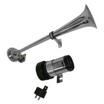 Corneta De Aire Comprimido Profesional Tipo Trompeta 12-24v