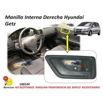 Manilla Interna Hyundai Getz Derecha