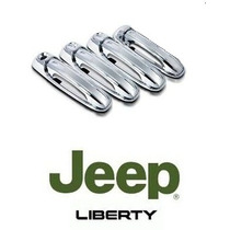 Kit De Manillas Cromadas Para Jeep Liberty 2002-2007