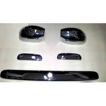 Kit Cromado Ford Ka Manillas Espejos Platina Tracera