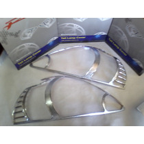Kit Bordes Cromados Faros Delanteros Honda Fit 2003-2006