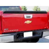 Cromado Para Manilla Compuerta Trasera D Chevrolet Silverado