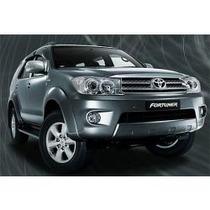 Kit Cromado Platinas Bordes De Ventana Toyota Fortuner