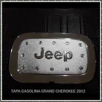 Tapa De Gasolina Cromada Grand Cherokee 2012