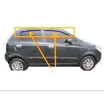Chevrolet Spark Deflector De Ventana Acrilico Negro