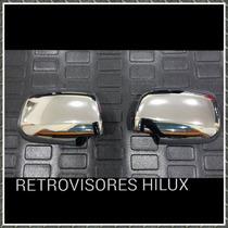 Retrovisores Cromados Hilux 2008