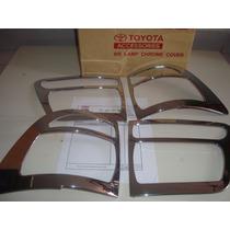 Kit Cromado Toyota Fortuner Cobertor Stop Faro Cromado