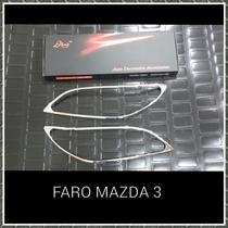 Faro Cromado Mazda 3