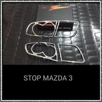 Stop Cromado Mazda 3
