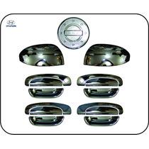 Kit Cromado Hyundai Getz Manilla, Retrovisor Y Tapa Gasolina
