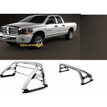 Barra Antivuelco Cromado Dodge Ram