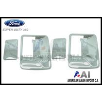 Sobre Manillas Cromadas / Ford Superduty F350 (4ptas)