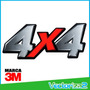 Calcomania 4x4 Chevrolet Luv Dmax Marca 3m Diseño Original