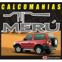 Kit Completo Calcomanias Para Toyota Meru