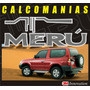 Kit Completo Calcomanias Para Toyota Meru