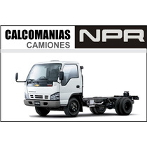 Calcomania Para Npr Turbo 6 Speed