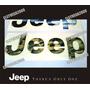Emblema Relieve Subliminado Jeep Cherokee Y Grand Cherokee