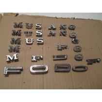Letras De Emblemas De Mustang,maverick,sueltas.