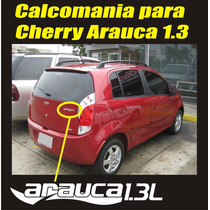 Calcomania Sticker Emblema Cherry Arauca 1.3 Venirauto