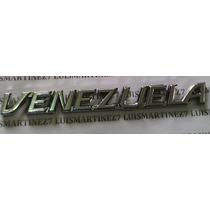 Emblema Letras Venezuela 19 X 2,5
