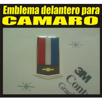 Emblema 3d Delantero Capot Para Chevrolet Camaro