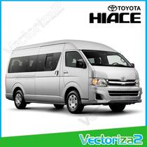 Calcomania Toyota Hiace Alta Calidad Entrega Personal