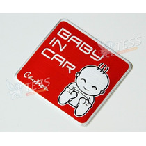 Emblema Baby In Car Toyota Chebrolet Ford Jeep