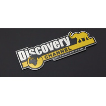 Emblema Discovery Channel Toyota Ford Chevrolet Jeep