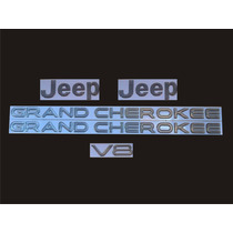 Kit De Emblemas Para Jeep Grand Cherokee