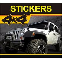 Calcomanías 4x4 - Stickers 4x4