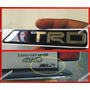 Emblema Trd En Relieve Aluminio Flexible Para Toyota