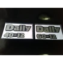 Kit De Emblemas Para Iveco Daily 40-12 Y 60-12