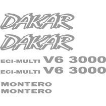Calcomanias Montero Dakar