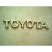 Rotulo Letrero Toyota Para Yaris Y Corolla