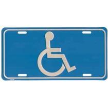 Placa Vehiculo Persona C/ Discapacidad Simbolo Accesibilidad